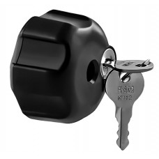 """Locking Knob with 1/4""""-20 Brass Hole for 1"""" B Size Arms"""